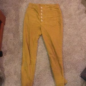 free people high-waisted orchid pants!!